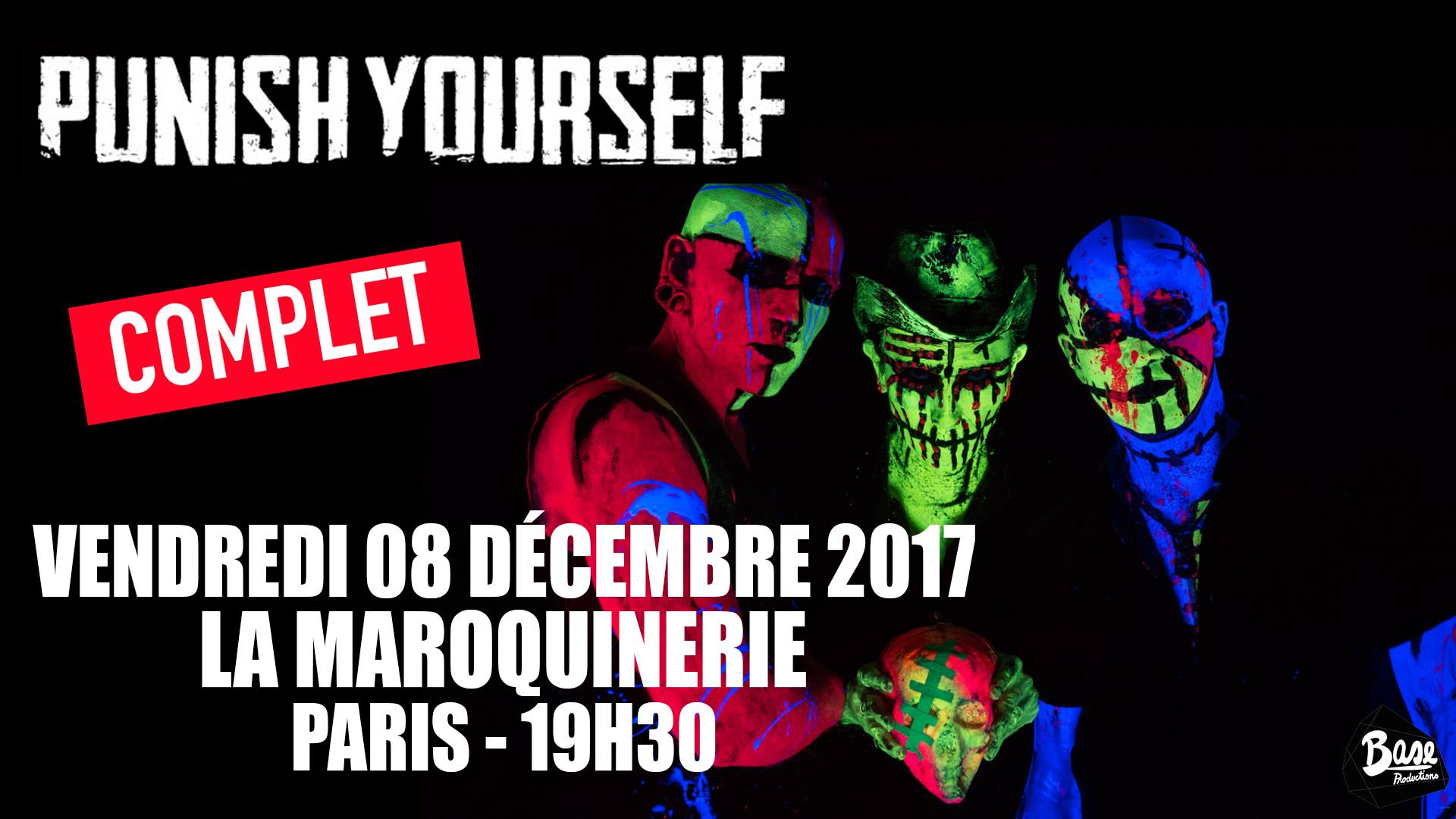 Punish Yourself - Tour 2018