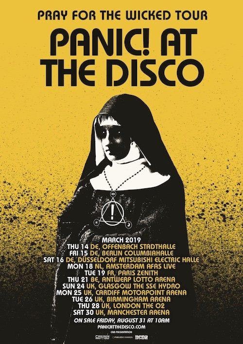 Panic At The Disco Tour 2020 Panic! at the Disco   Tour 2019   16/03/2019   Düsseldorf