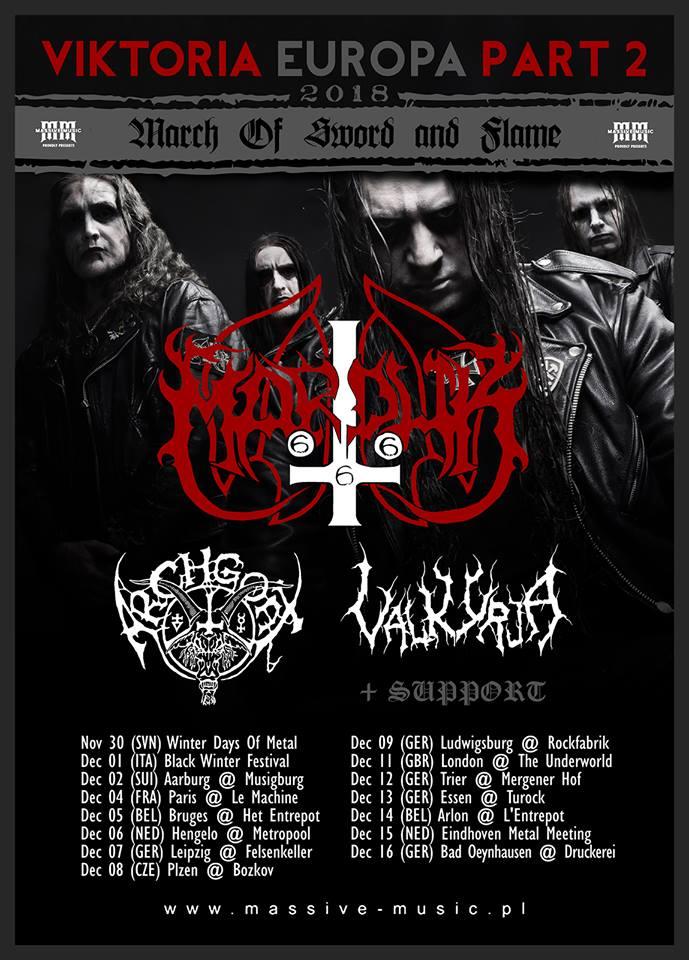 Marduk - Tour 2018 - 08/12/2018 - Plzen - Czech Republic
