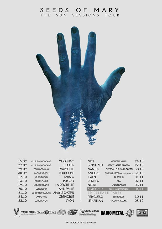Seeds Of Mary - Tour 2018