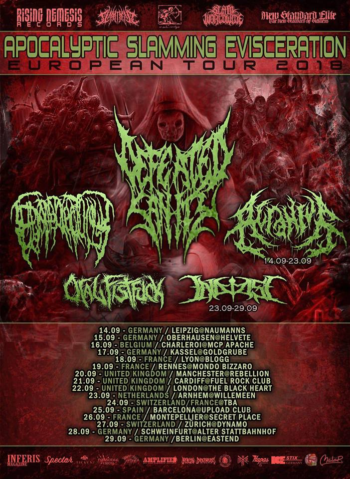 Defeated Sanity + Epicardiectomy + ...