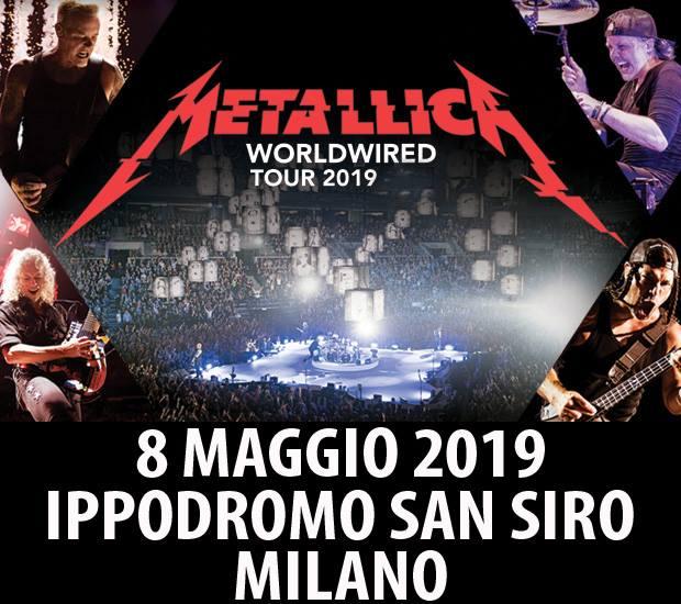 Metallica - Tour 2019 - 08/05/2019 - Milano - Lombardia