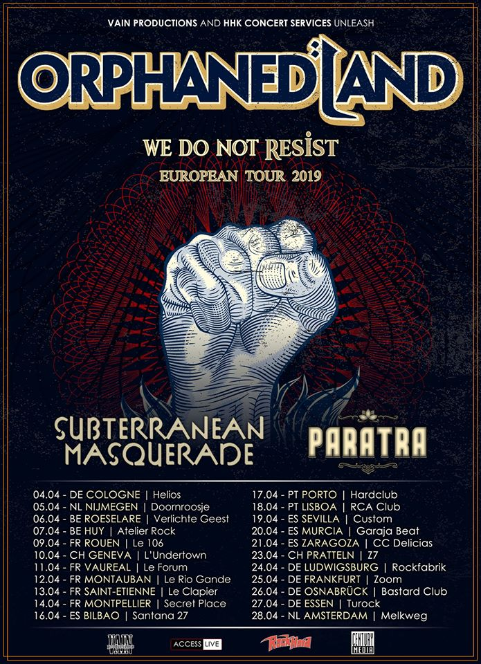 Orphaned Land - Tour 2019
