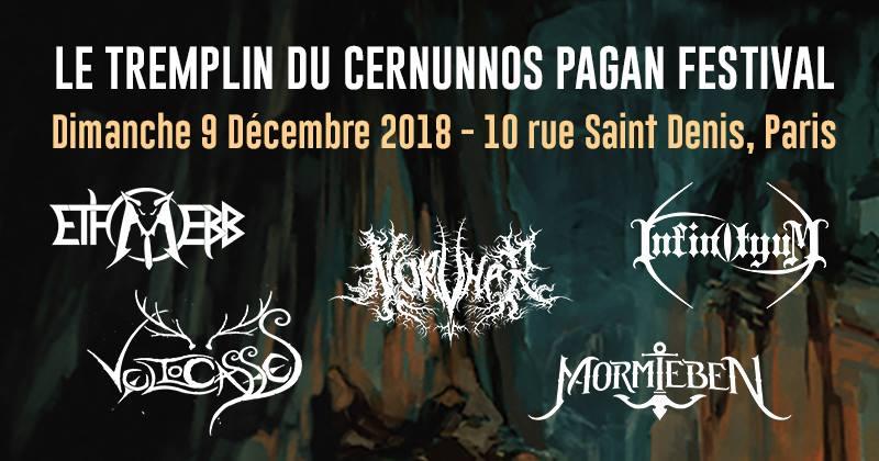 Tremplin Cernunnos Pagan Fest - 09/12/2018 - Paris - Ile de France