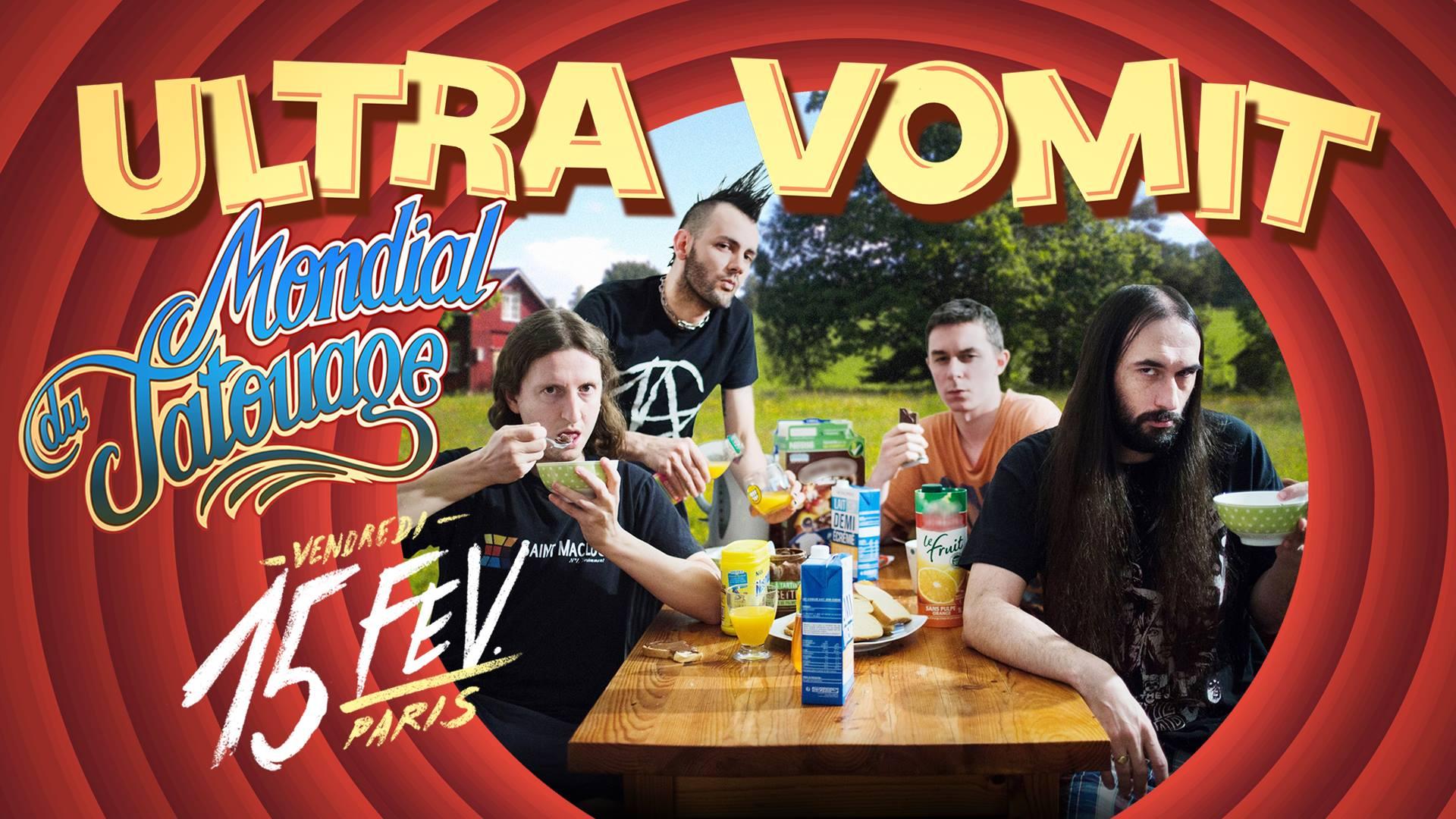 Concerts Metal Calendar Ultra Vomit Mondial Du Tatouage 2019
