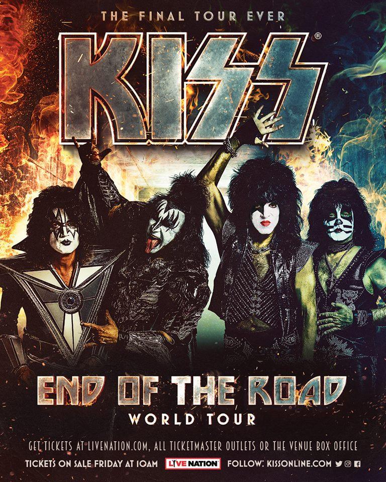 KISS - Tour 2019 - 14/07/2019 - Newcastle - England - United Kingdom
