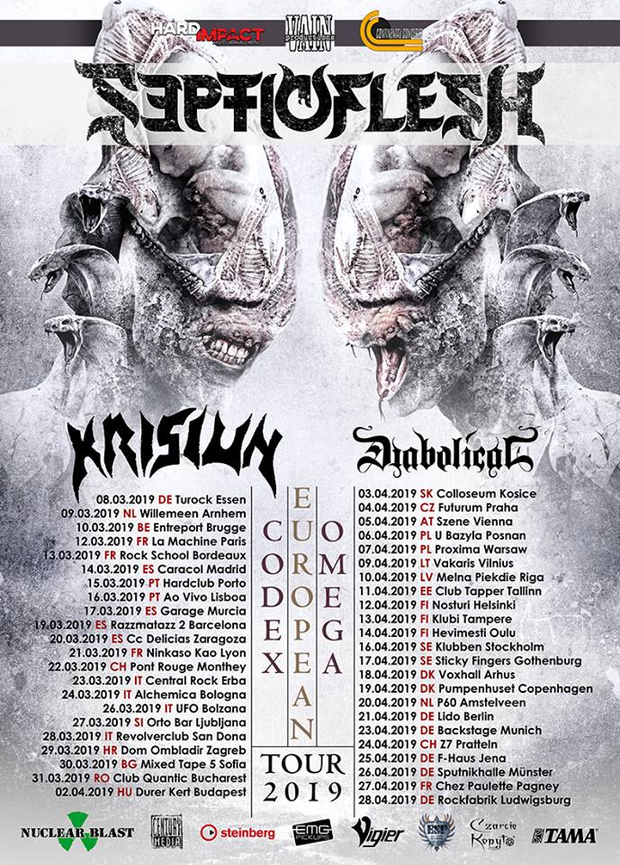 Septicflesh - Tour 2019