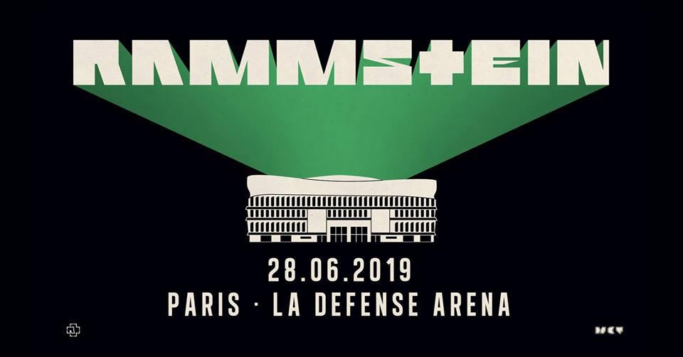 Rammstein 2019 Paris Plan De La Salle Concerts Metal