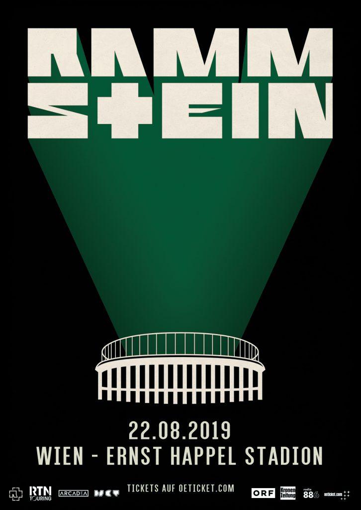 Rammstein Tour 2019 22082019 Wien Vienna Wien Austria