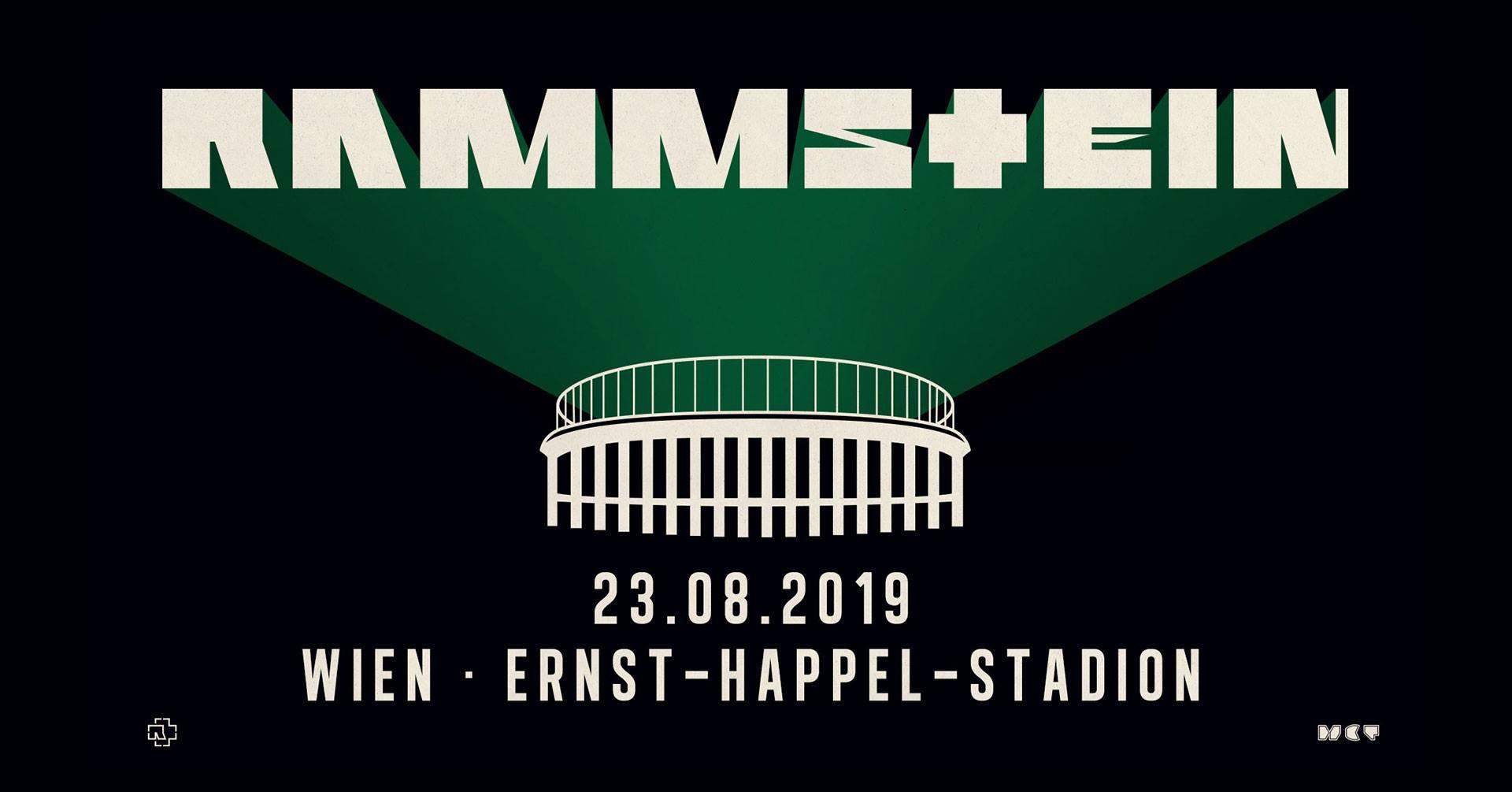 Rammstein Tour 2019 23082019 Wien Vienna Wien Austria