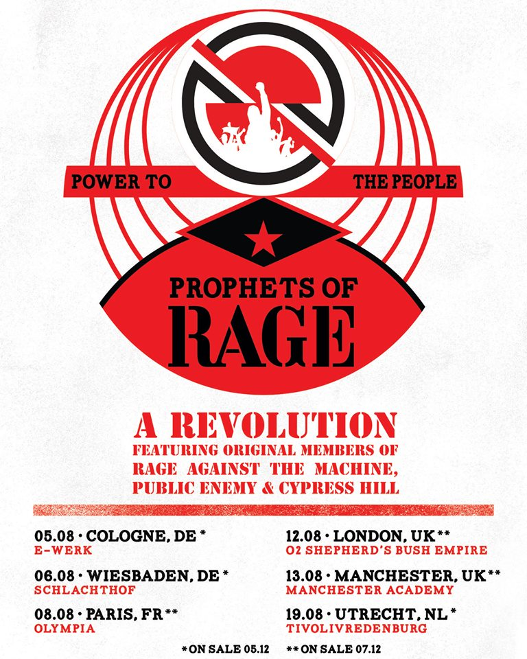 Prophets of Rage - Tour 2019