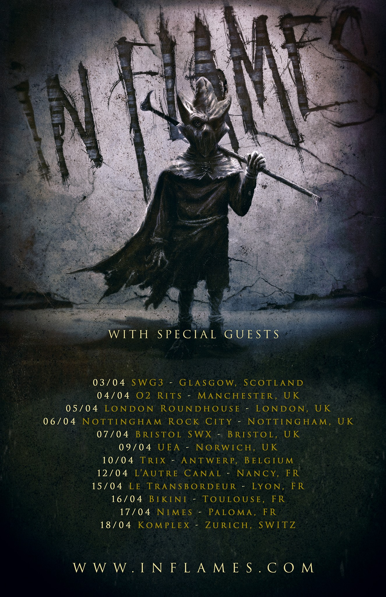 In Flames - Tour 2019