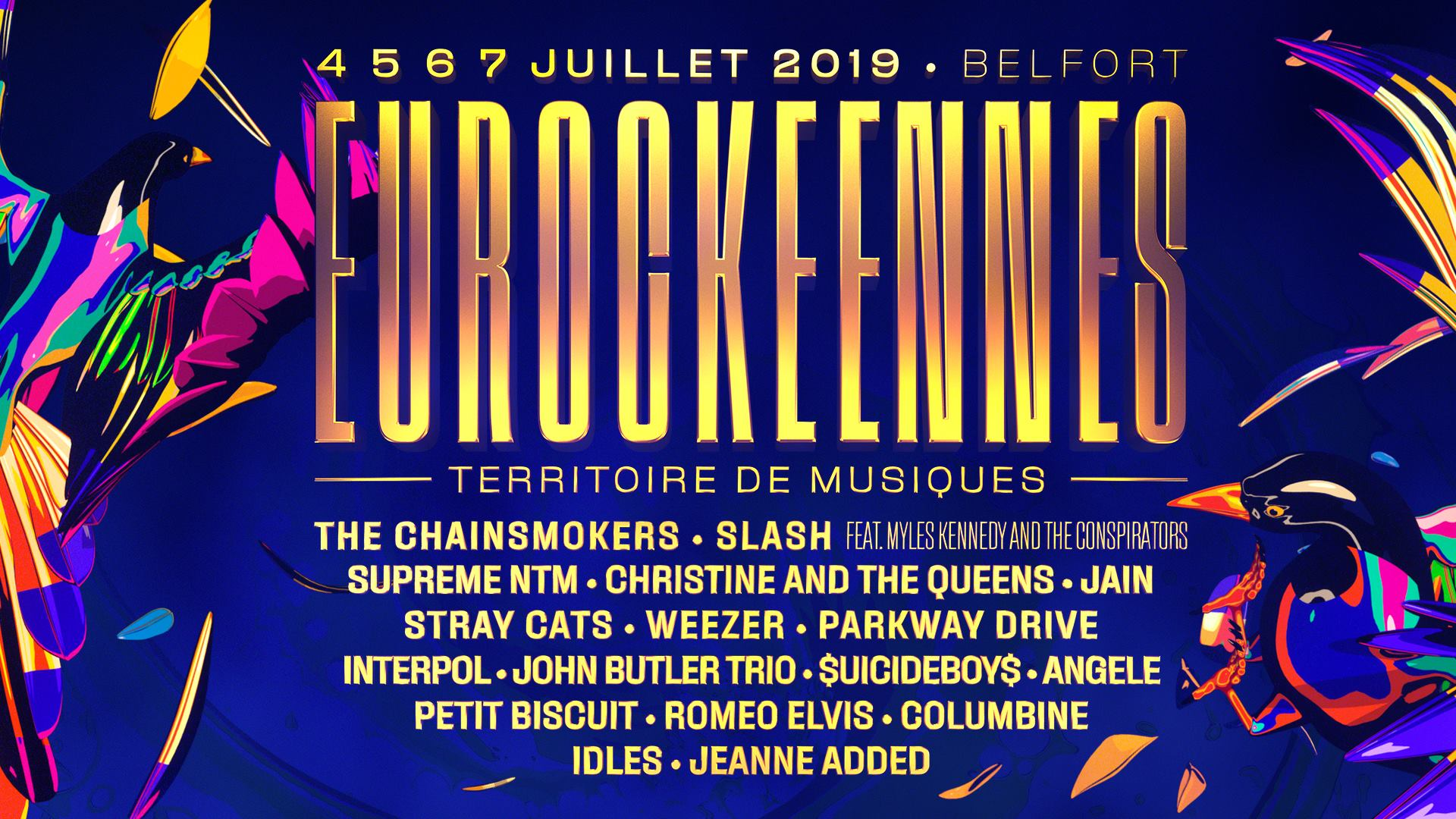 Eurockéennes 2019 - 04/07/2019 (4 days) - Belfort ...