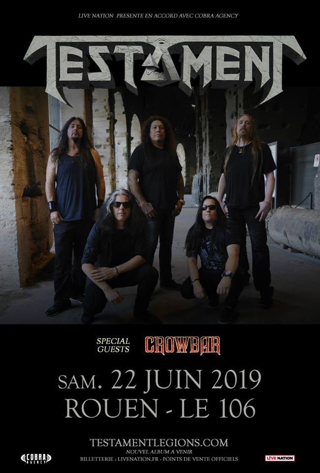 Testament - Tour 2019