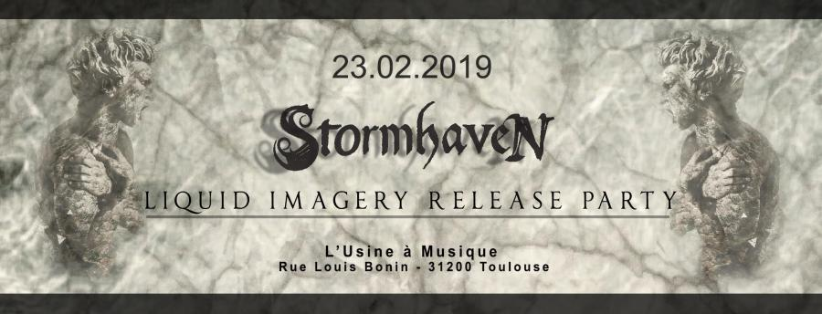 Stormhaven : Liquid Imagery release party