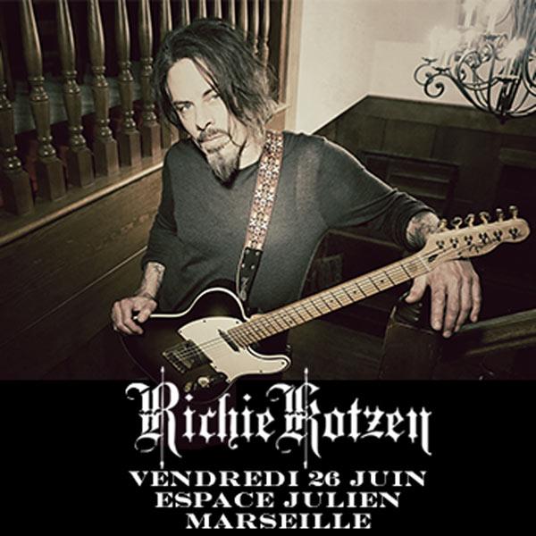 Richie Kotzen Tour 2020 Richie Kotzen   Tour 2019   26/06/2019   Marseille   Provence