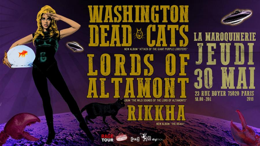 The Lords of Altamont+Washington Dead Cats