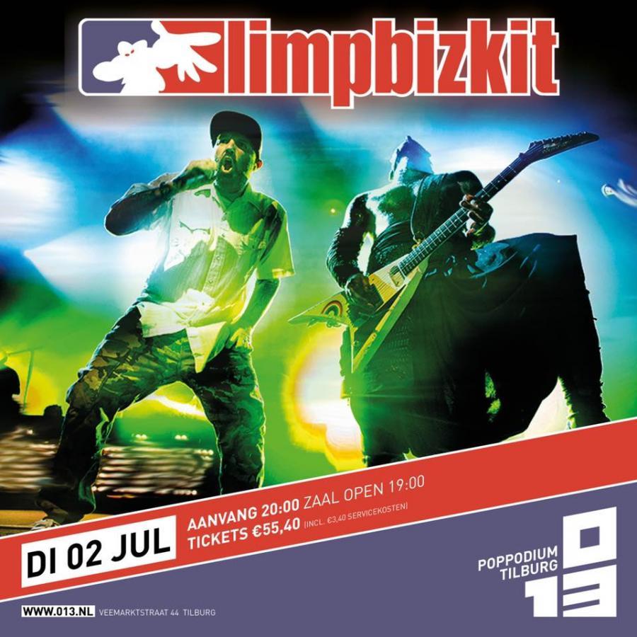 Limp Bizkit Tour Dates 2020 Limp Bizkit   Tour 2019   02/07/2019   Tilburg   Noord Brabant