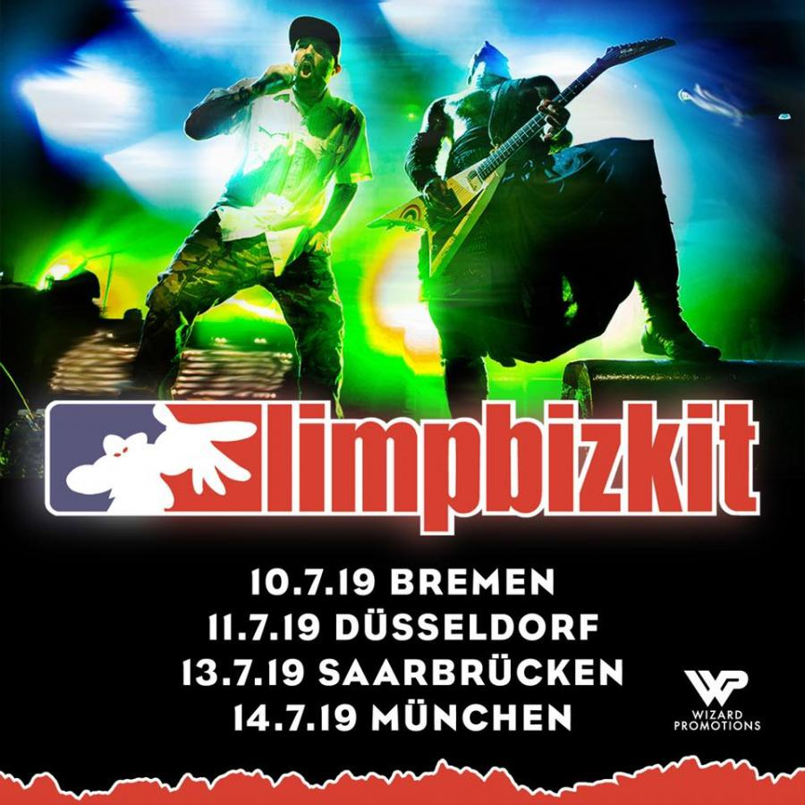 Limp Bizkit Tour Dates 2020 Limp Bizkit   Tour 2019   14/07/2019   München   Bayern   Germany
