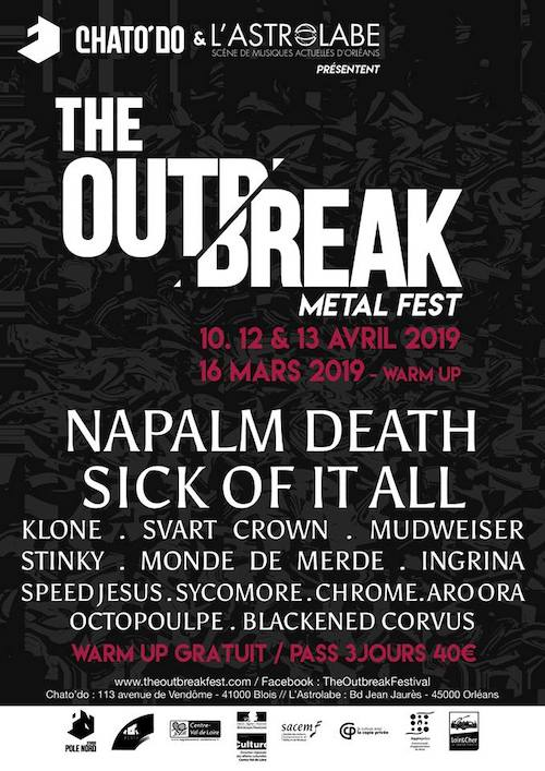 The Outbreak - Metal Fest#3