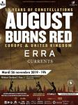 August Burns Red - Tour 2019