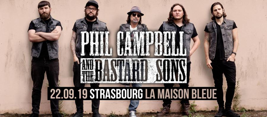 Phil Campbell - Tour 2019