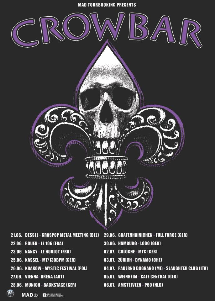 Crowbar - Tour 2019