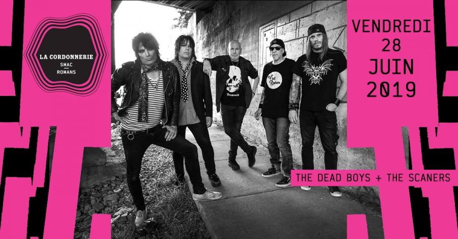 DEAD BOYS + The Scaners