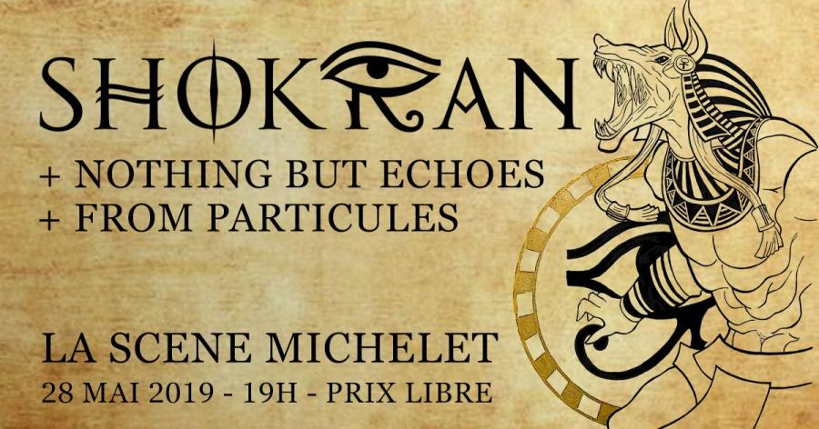 Shokran ° Nothing but Echoes ° From Particles