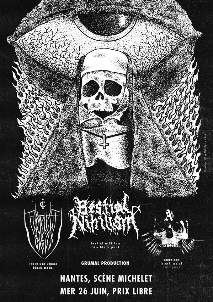 Bestial Nihilism X Angoisse X Incipient Chaos