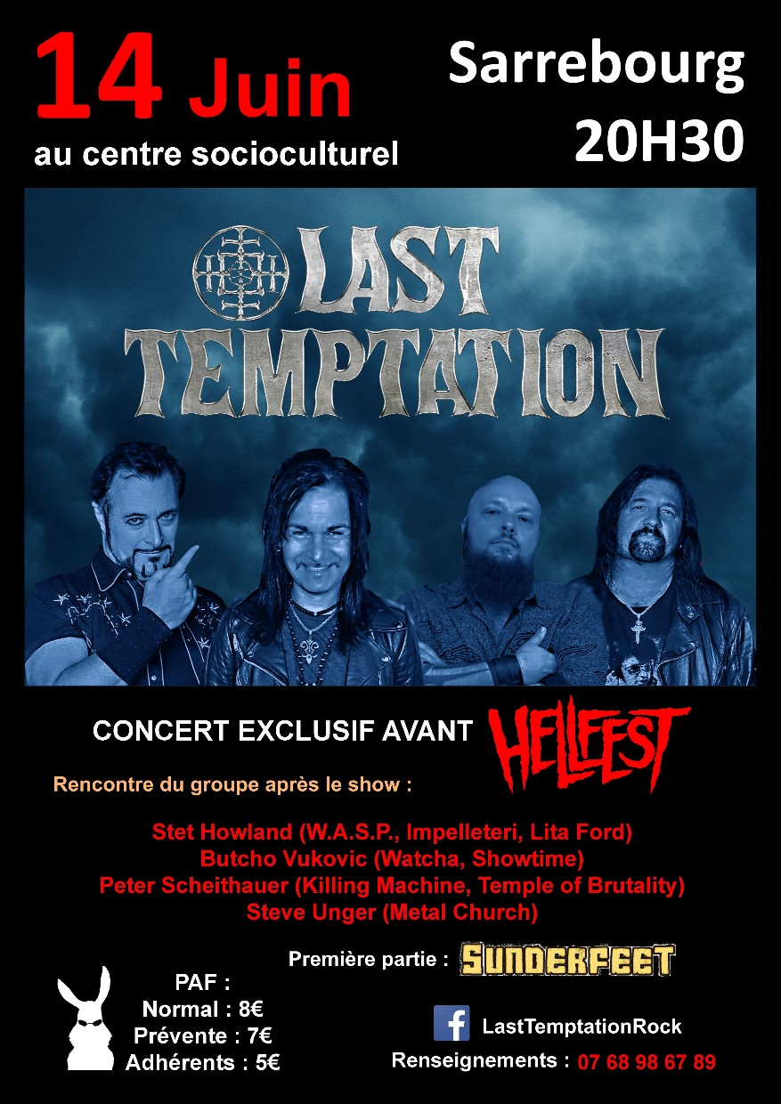 Last Temptation (ex Watcha / WASP / Metal Chur