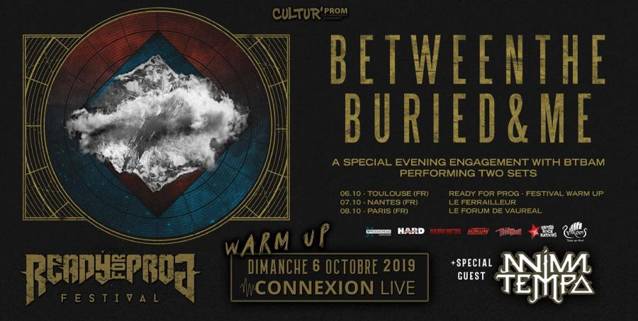 Between The Buried & Me  @ Connexion Live
