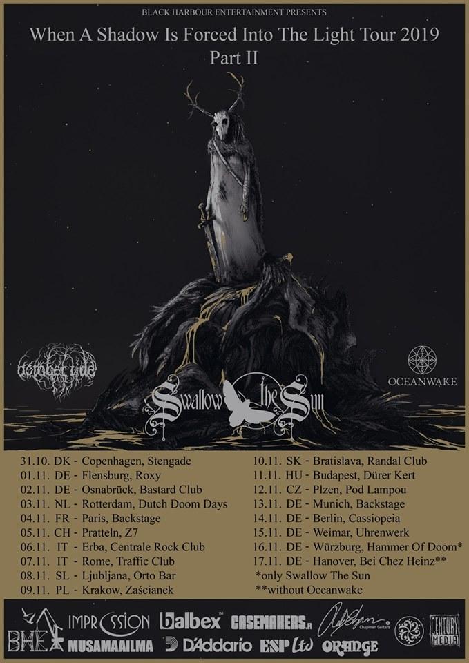 Swallow The Sun - Tour 2019 - 14/11/2019 - Berlin - Berlin