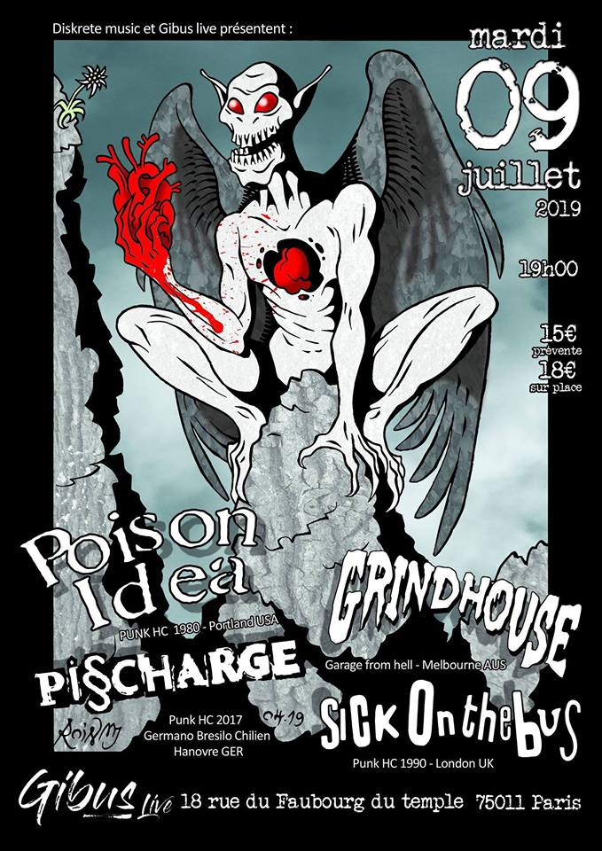 Poison Idea + Grindhouse