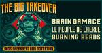 Peuple de l'Herbe+Brain Damage+Burning Heads