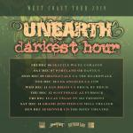 Unearth + Darkest Hour - Tour 2019