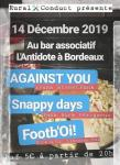 Against You + Snappy days + Footb'Oi!