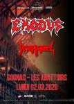 Exodus + Death Angel