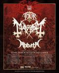 Mayhem + Abbath - Tour 2020