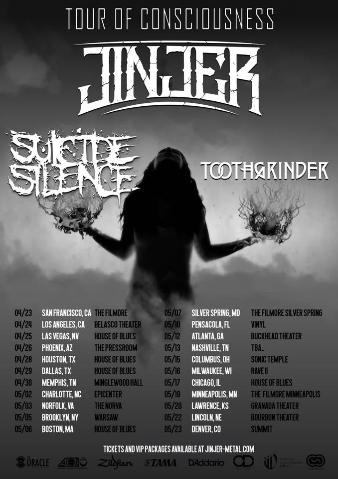 jinjer tour 2020 20 05 2020 lawrence kansas united states concerts metal calendar jinjer tour 2020 20 05 2020