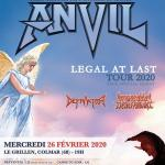 Anvil - Tour 2020