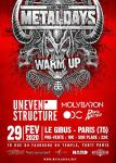 Metaldays 2020 - WARM UP Paris