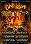 Destruction + Suicidal Angels + Crisix