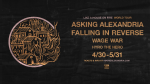 Asking Alexandria - Tour 2020
