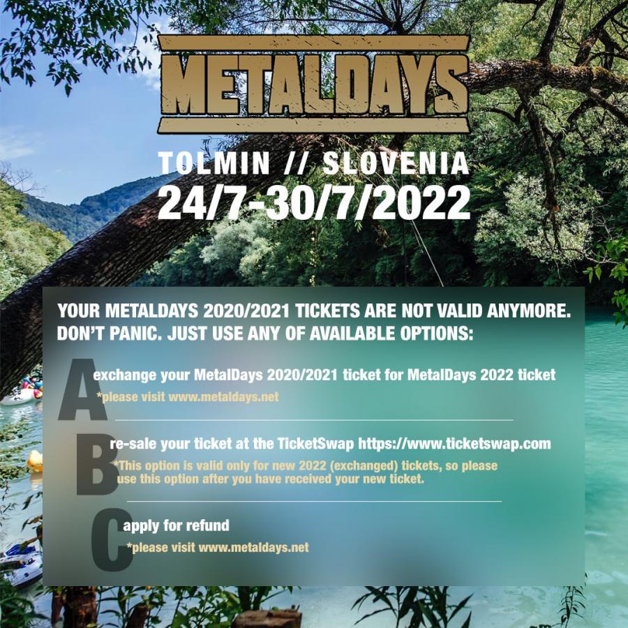 Tolmin metaldays Metaldays
